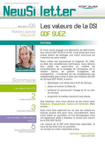 Super GDF SUEZ : Newsletters internes - Agence Artatem propagateur d'images HN69