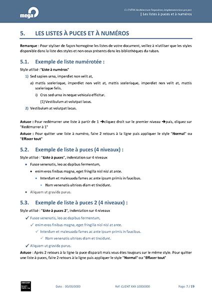 Mega International Mod 232 Le Word Pour Propositions