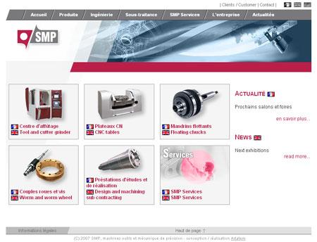 Site internet SMP