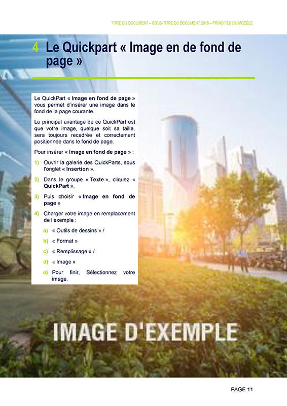 SUEZ : Modele de rapport sous Word - Artatem, agence de communication